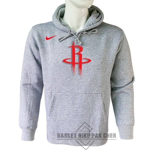 Maillot NBA Pas Cher - Hoodies NBA Houston Rockets Nike Gris