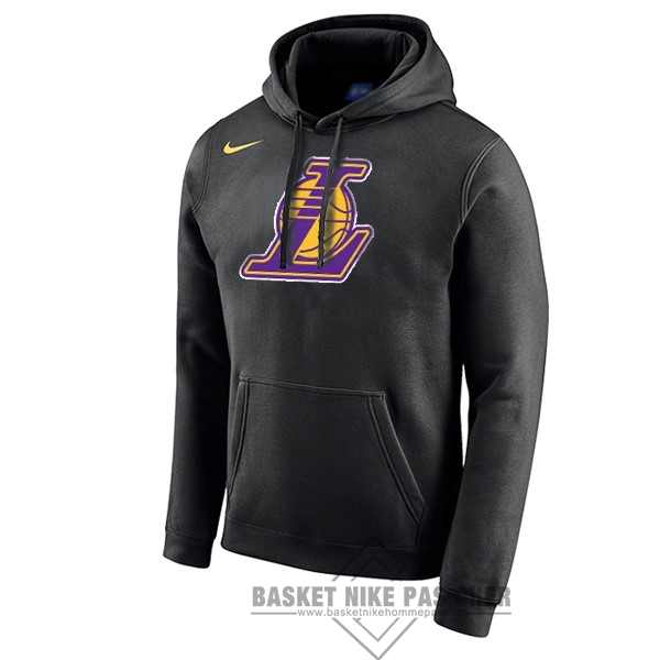 Maillot NBA Pas Cher - Hoodies NBA Los Angeles Lakers Nike Noir