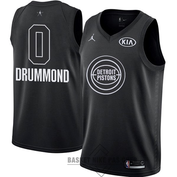 Maillot NBA Pas Cher - Maillot NBA 2018 All Star NO.0 Andre Drummond Noir