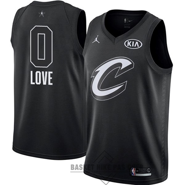 Maillot NBA Pas Cher - Maillot NBA 2018 All Star NO.0 Kevin Love Noir
