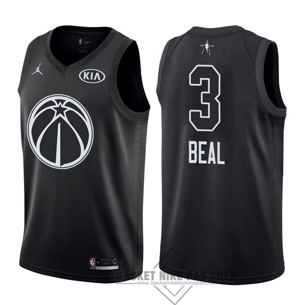 Maillot NBA Pas Cher - Maillot NBA 2018 All Star NO.3 Bradley Beal Noir