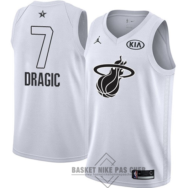 Maillot NBA Pas Cher - Maillot NBA 2018 All Star NO.7 Goran Dragic Blanc