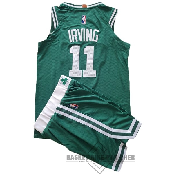 Maillot NBA Pas Cher - Maillot NBA Ensemble Complet Enfant Boston Celtics NO.11 Kyrie Irving Vert
