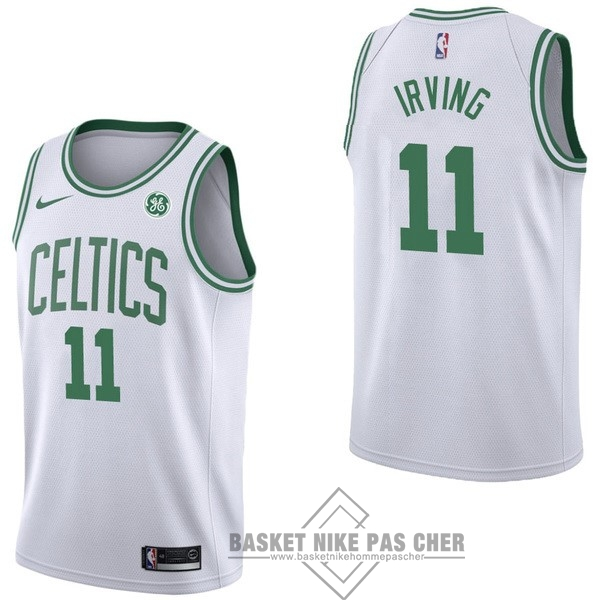 Maillot NBA Pas Cher - Maillot NBA Nike Boston Celtics NO.11 Kyrie Irving Blanc