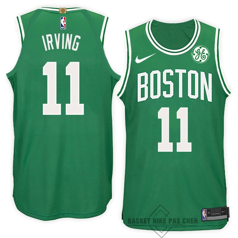 Maillot NBA Pas Cher - Maillot NBA Nike Boston Celtics NO.11 Kyrie Irving Vert