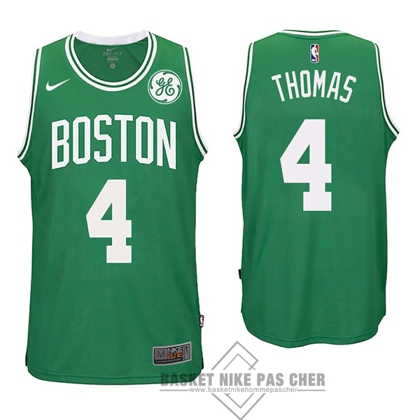 Maillot NBA Pas Cher - Maillot NBA Nike Boston Celtics NO.4 Isaiah Thomas Vert