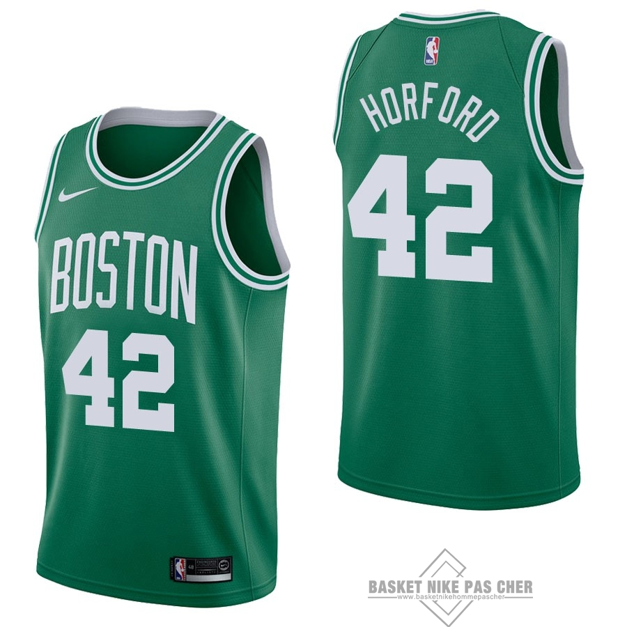 Maillot NBA Pas Cher - Maillot NBA Nike Boston Celtics NO.42 Al Horford Vert Icon