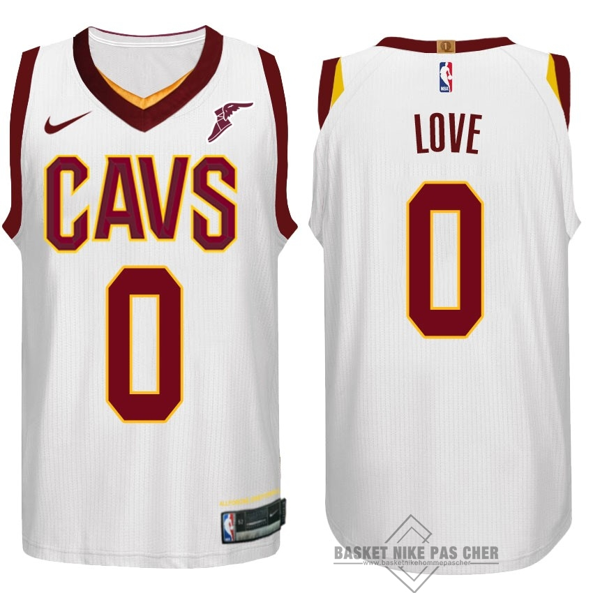Maillot NBA Pas Cher - Maillot NBA Nike Cleveland Cavaliers NO.0 Kevin Love Blanc