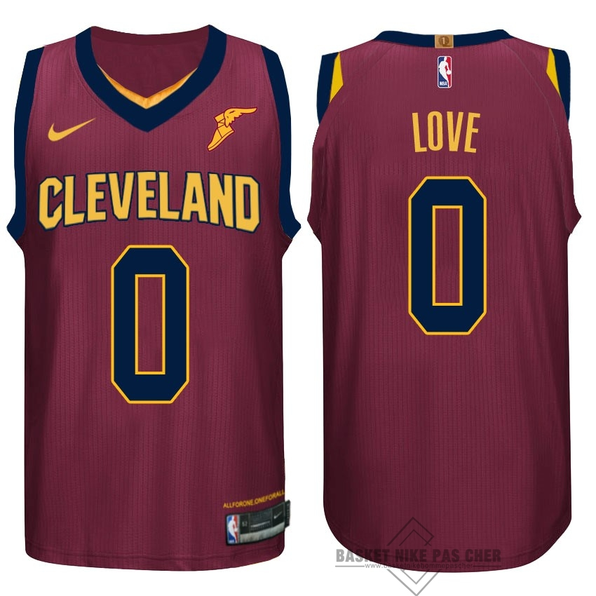 Maillot NBA Pas Cher - Maillot NBA Nike Cleveland Cavaliers NO.0 Kevin Love Rouge