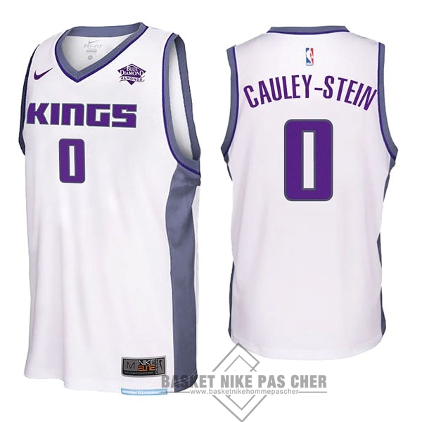 Maillot NBA Pas Cher - Maillot NBA Nike Sacramento Kings NO.0 Willie Cauley Stein Blanc