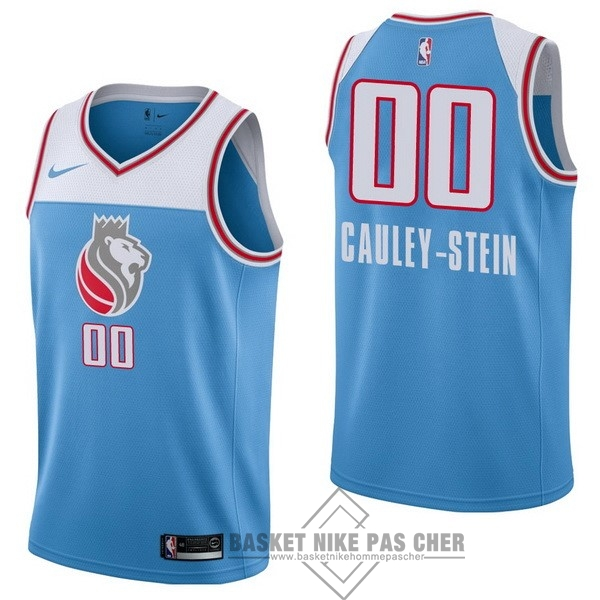 Maillot NBA Pas Cher - Maillot NBA Nike Sacramento Kings NO.0 Willie Cauley Stein Nike Bleu Ville