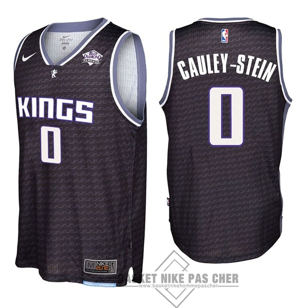 Maillot NBA Pas Cher - Maillot NBA Nike Sacramento Kings NO.0 Willie Cauley Stein Noir