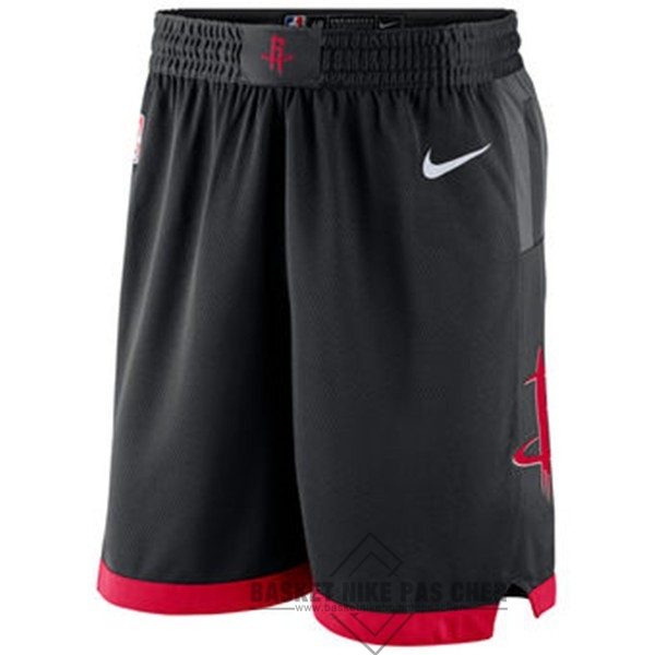 Maillot NBA Pas Cher - Short Basket Houston Rockets Nike Noir