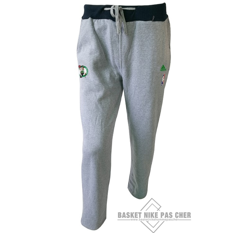 Maillot NBA Pas Cher - Survetement Short Basket Boston Celtics Gris