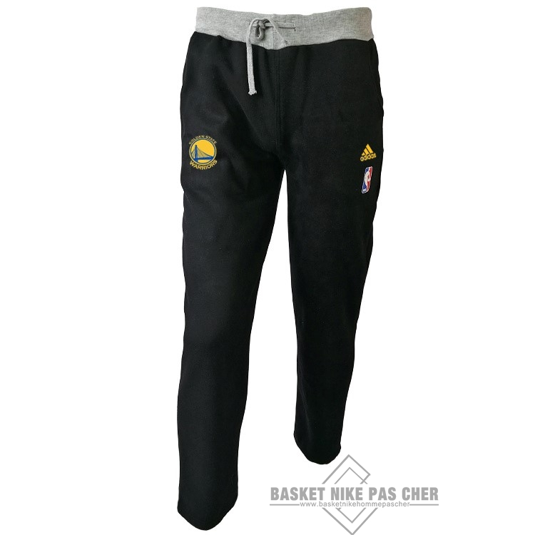 Maillot NBA Pas Cher - Survetement Short Basket Golden State Warriors Noir