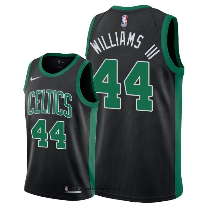 Maillot NBA Pas Cher - Maillot NBA Nike Boston Celtics NO.44 Robert Williams III Noir Statement 2018-19