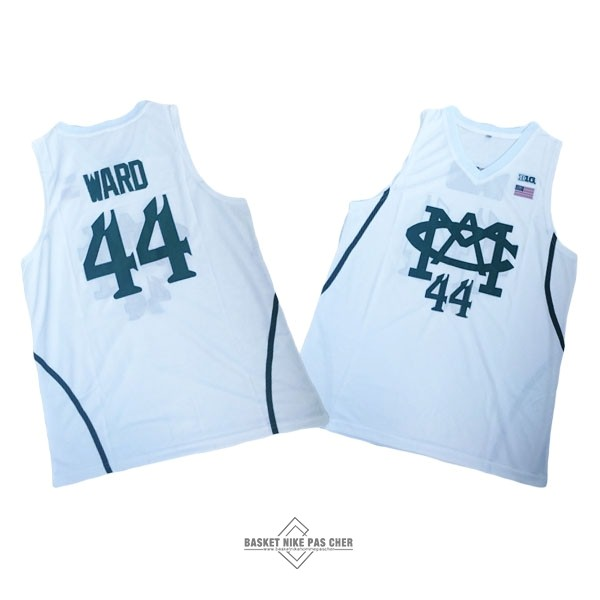 Maillot NBA Pas Cher - Maillot NCAA Michigan NO.44 Nick Ward Blanc