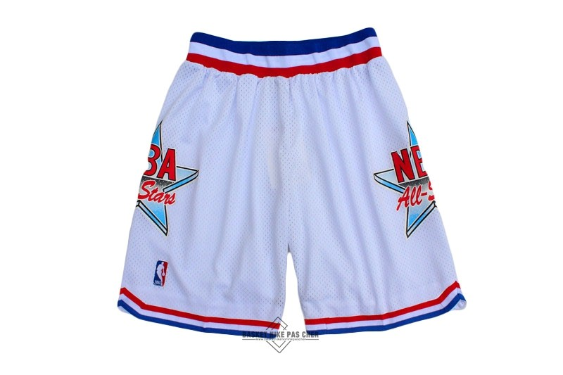 Maillot NBA Pas Cher - Short Basket 1992 All Star Blanc