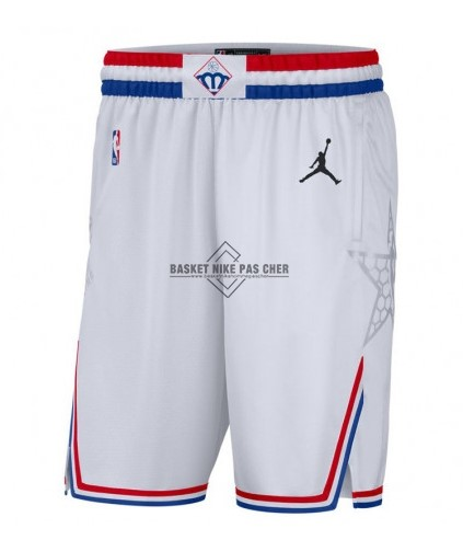 Maillot NBA Pas Cher - Short Basket 2019 All Star Blanc