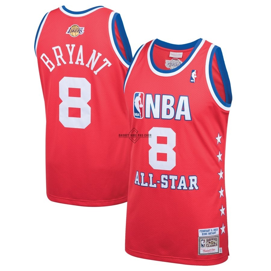 Maillot NBA Pas Cher - Maillot NBA All Star 2003 NO.8 Kobe Bryant Rouge