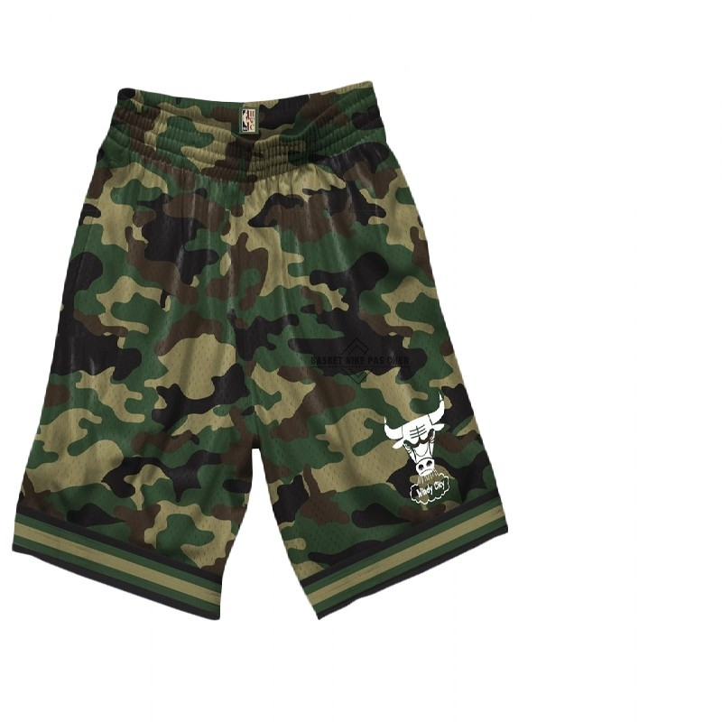 Maillot NBA Pas Cher - Short Basket Chicago Bulls camo