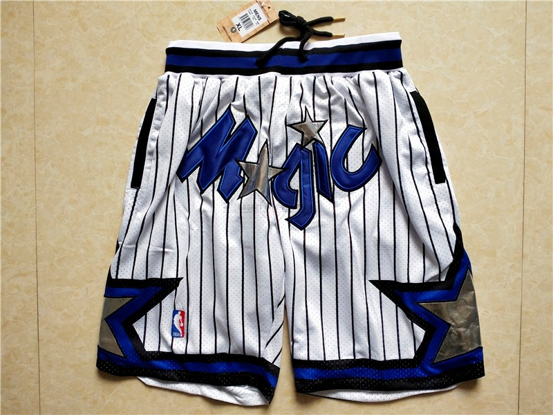 Maillot NBA Pas Cher - Short Basket Orlando Magic Blanc