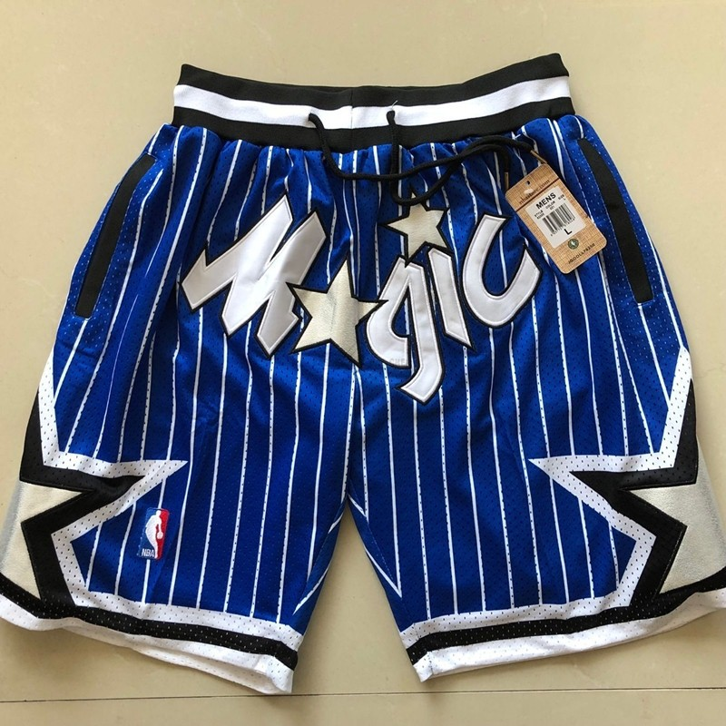 Maillot NBA Pas Cher - Short Basket Orlando Magic Bleu