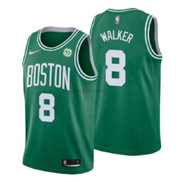 Maillot NBA Pas Cher - Maillot NBA Enfant Boston Celtics NO.8 Kemba Walker Vert 2019-20