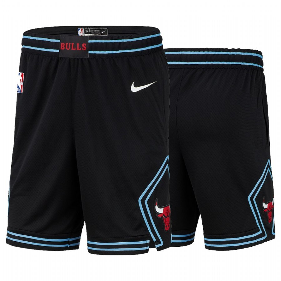 Short Basket Chicago Bulls Nike Noir