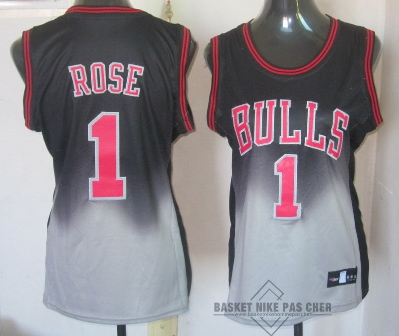 Maillot NBA Pas Cher - Maillot NBA Femme Retentisse Fashion NO.1 Derrick Rose