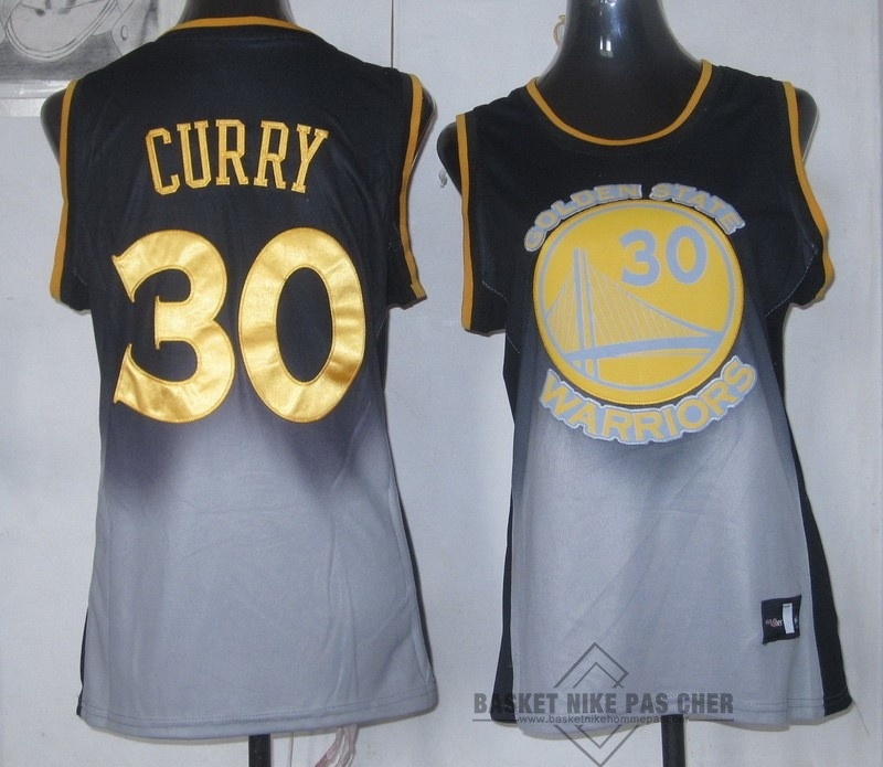 Maillot NBA Pas Cher - Maillot NBA Femme Retentisse Fashion NO.30 Stephen Curry
