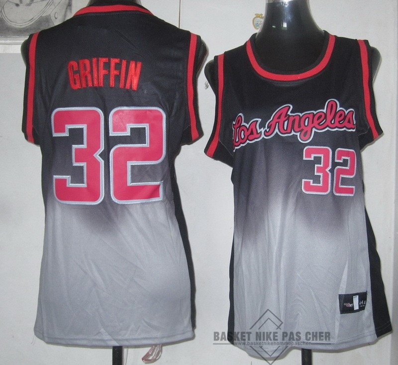Maillot NBA Pas Cher - Maillot NBA Femme Retentisse Fashion NO.32 Blake Griffin