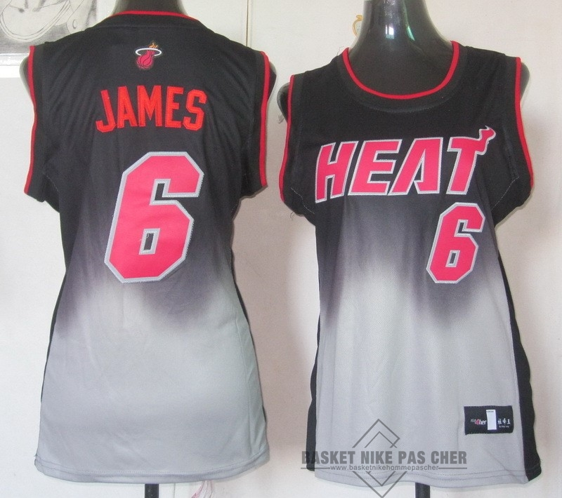 Maillot NBA Pas Cher - Maillot NBA Femme Retentisse Fashion NO.6 LeBron Jamese