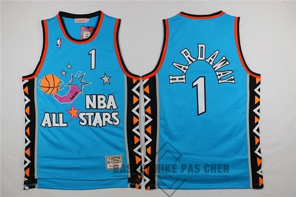 Maillot NBA Pas Cher - Maillot NBA 1996 All Star NO.1 Anfernee Hardaway Bleu