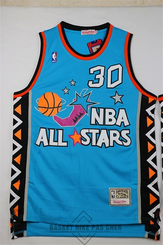 Maillot NBA Pas Cher - Maillot NBA 1996 All Star NO.30 Scottie Pippen Bleu