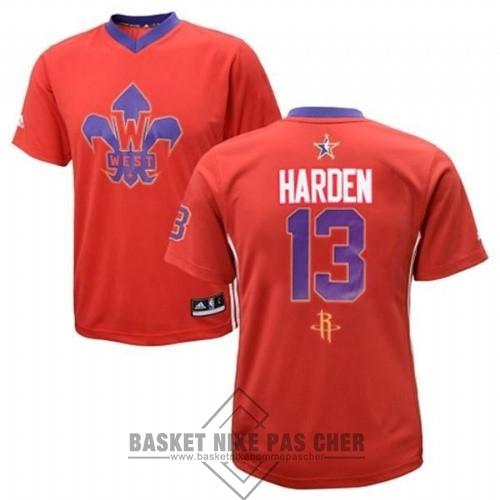 Maillot NBA Pas Cher - Maillot NBA 2014 All Star NO.13 James Harden Rouge