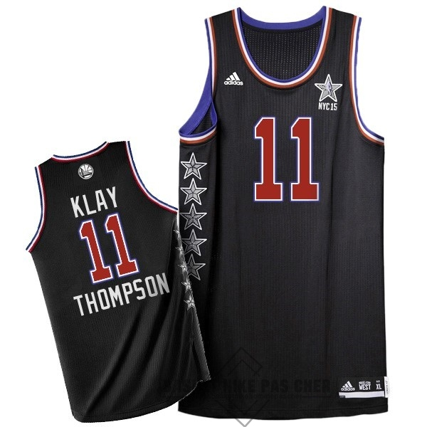 Maillot NBA Pas Cher - Maillot NBA 2015 All Star NO.11 Klay Thompson Noir