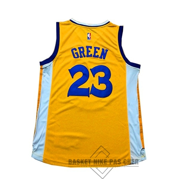 Maillot NBA Pas Cher - Maillot NBA Femme Golden State Warriors NO.23 Draymond Green Jaune