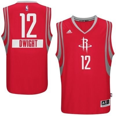 Maillot NBA Pas Cher - Maillot NBA Houston Rockets 2014 Noël NO.12 Dwight Rouge