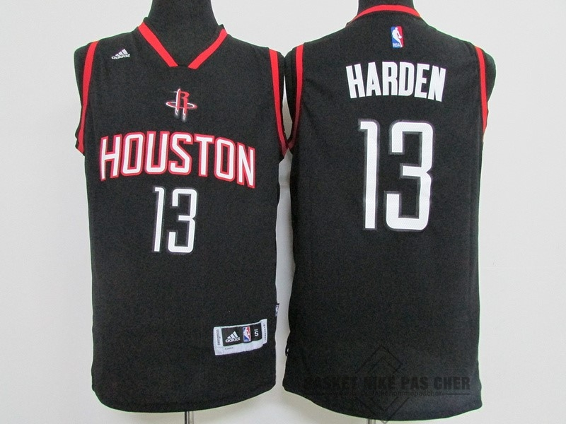 Maillot NBA Pas Cher - Maillot NBA Houston Rockets NO.13 James Harden Noir