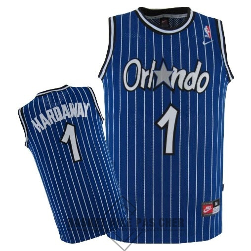 Maillot NBA Pas Cher - Maillot NBA Orlando Magic NO.1 Anfernee Hardaway Bleu