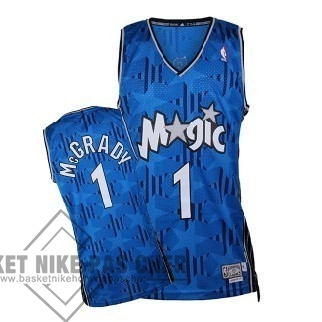 Maillot NBA Pas Cher - Maillot NBA Orlando Magic NO.1 Tracy McGrady Bleu Sombre