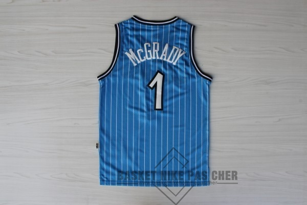 Maillot NBA Pas Cher - Maillot NBA Orlando Magic NO.1 Tracy McGrady Bleu