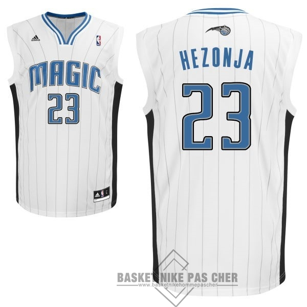 Maillot NBA Pas Cher - Maillot NBA Orlando Magic NO.23 Mario Hezonja Blanc