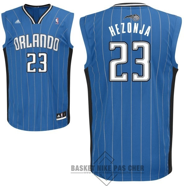 Maillot NBA Pas Cher - Maillot NBA Orlando Magic NO.23 Mario Hezonja Bleu