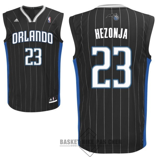 Maillot NBA Pas Cher - Maillot NBA Orlando Magic NO.23 Mario Hezonja Noir