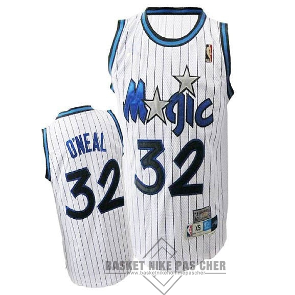 Maillot NBA Pas Cher - Maillot NBA Orlando Magic NO.32 Shaquille O'Neal Blanc