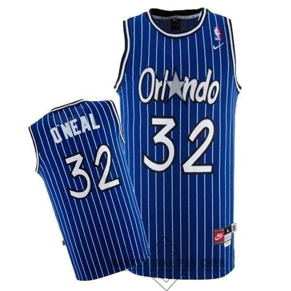 Maillot NBA Pas Cher - Maillot NBA Orlando Magic NO.32 Shaquille O'Neal Bleu