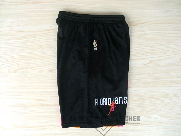 Maillot NBA Pas Cher - Short Basket ABA Miami Heat Noir
