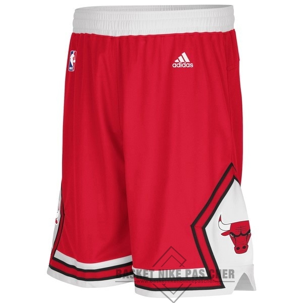 Maillot NBA Pas Cher - Short Basket Adidas Chicago Bulls Rouge